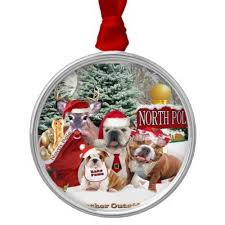12 best bulldog ornaments images on