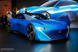 peugeot concept car peugeot instinct concept shines in geneva with french class and