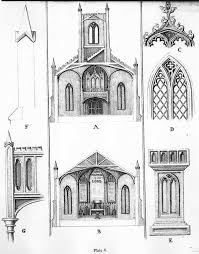 Gothic Architecture Floor Plan Essay On Gothic Architecture By John Henry Hopkins 1836
