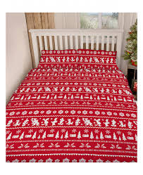 Christmas Duvet Covers Uk This Mickey And Minnie Mouse Christmas King Size Duvet Cover Set