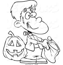 frankenstein kid coloring pages contegri