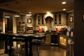 photo showing sitting area with custom cabinet backdrop candy