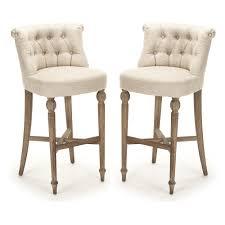 cushioned bar stool cushioned french cafe bar stools provence chic