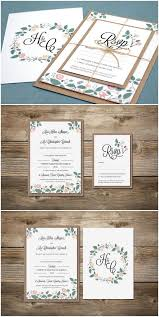 country chic wedding invitations top 10 rustic wedding invitations to wow your guests floral