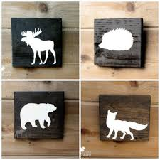 wooden animal wall wooden animal wall decor home decorating ideas