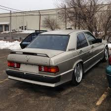 wts wtt 1987 mercedes 190e 2 3 16v cosworth 5spd manual