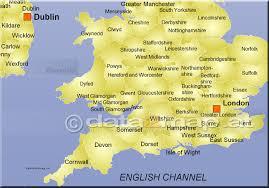 Somerset England Map Großbritannien Landkarte Mit England Wales Grafschaften