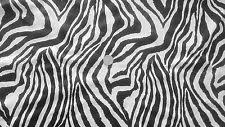 Zebra Print Upholstery Fabric Uk Zebra Print Fabric Ebay