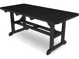 Polywood Furniture Dealers Polywood Park Recycled Plastic 72 X 36 Rectangular Picnic Table