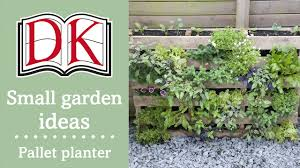 Planter Garden Ideas Small Garden Ideas Pallet Planter