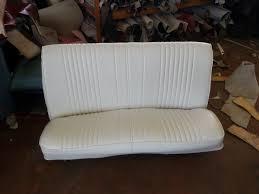 white leather bench seat 10th street auto u0026 trim