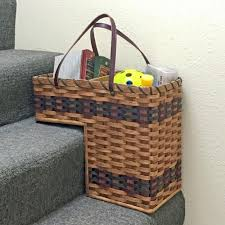 ideas multifunctional stair basket for storing all you want it