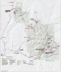 Map Of Zion National Park Zion National Park Wikimedia Commons