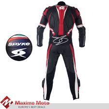 spyke mix kangaroo leather motorcycle suits for men mix kangaroo