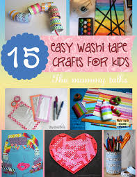 15 and craft ideas for using washi the talks