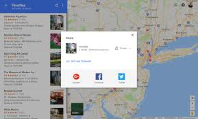 Google Maps Directions Link Google Maps Now Lets You Create And Share Lists Of Places From