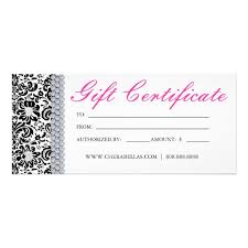 salon gift card gift certificate template 34 free word outlook pdf indesign