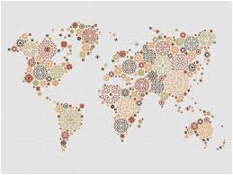 pattern art pdf steunk world map modern cross stitch pattern steunk world