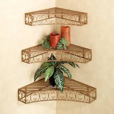 bellamy scroll corner wall shelf set
