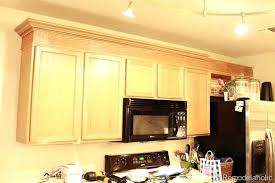 Crown Moulding For Kitchen Cabinets Crown Moulding For Kitchen Cabinets Adding Crown Molding To