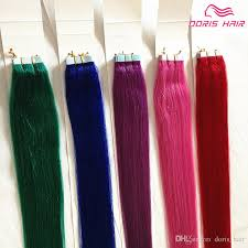 glued in hair extensions mix colours human hair in hair extensions indian