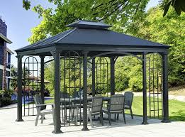 amazon com sunjoy d gz848pal as 134 top summerville gazebo