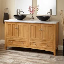 double sink freestanding vanity signature hardware