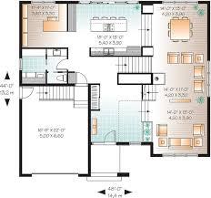 Contemporary House Floor Plan 23 Best Floorplan Images On Pinterest Bed U0026 Bath Garage And