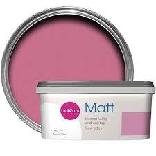 colours standard princess flat emulsion paint 2 5l departments