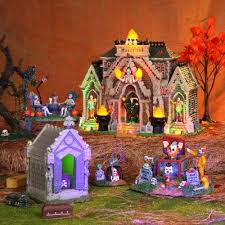 Spooky Village Halloween Decorations by 75 Best Halloween Spookytown Images On Pinterest Halloween
