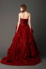 Red Wedding Dresses Red Wedding Dresses Vera Wang Dress Images