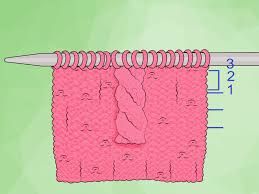 how to knit a cable 12 steps with pictures wikihow