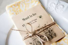 seed packets wedding favors bespoke wedding favors