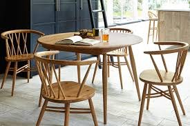 Ercol Dining Table And Chairs Dining Room Chairs Range Of Designs Fabrics Leathers Ercol