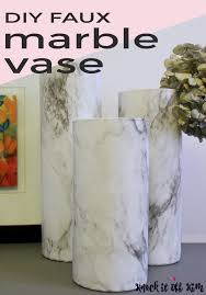Challenge Vase How To Make A Gorgeous But Easy Diy Faux Marble Vase Knock It