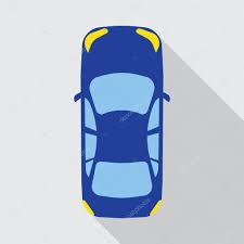 vehicle top view car top view vehicle u2014 stock vector makc76 106764726