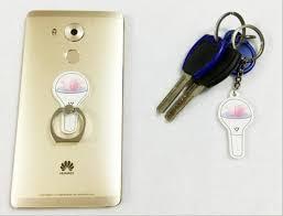 bts light stick keychain seventeen light stick key chain ring holder so aesthetic
