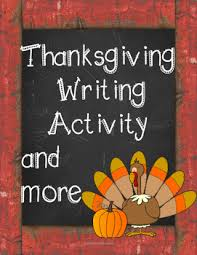 thanksgiving writing activity by rock this lesson tpt