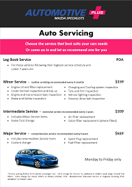 automotive plus mazda specialists