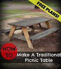 Plans To Build A Children S Picnic Table by Best 25 Build A Picnic Table Ideas On Pinterest Diy Picnic
