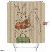 Gorgeous Shower Curtain by Online Shop Bunny Rabbit Gorgeous Cute Animal Custom Shower