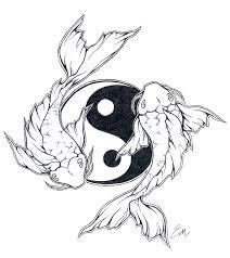 yinyang koi fish design by les belles soeurs deviantart com