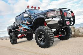 toyota tacoma jacked up 2004 ford f 250 super duty jacked up for a cause