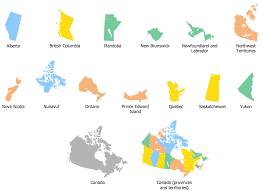 map of canada by province geo map canada