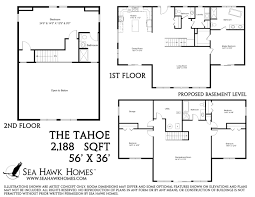 the tahoe 2017 sea hawk homes