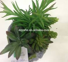plant for home decoration decorative artificial flowering succulent plants mini artificial