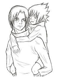 sasuke and itachi sketch by olifaciy on deviantart
