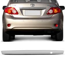 Extreme Aplique Cromado Moldura Porta Malas Toyota Corolla 08 a 11 com  #FE54