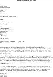 examples of cover letters for nursing jobs nursing instructor job