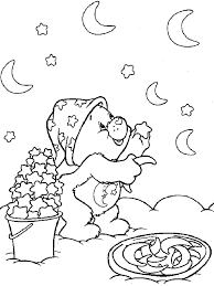 carebears coloring sheets coloring pages kids